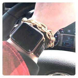 Louis Vuitton Double Wrap Apple Watch Band